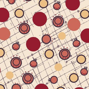 Dots and grid