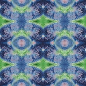 Blue Green Cosmos Mirror 2