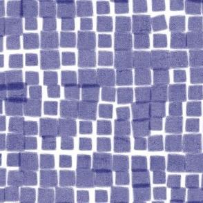 Loose grid blue
