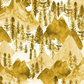 The Mountains Call in Goldenrod
