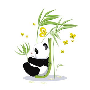 Alphabet and Panda. The letter J