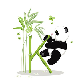Alphabet and Panda. The letter K