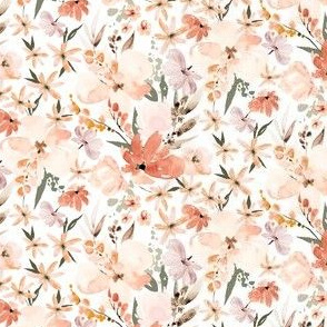 mini micro // Earth tone floral