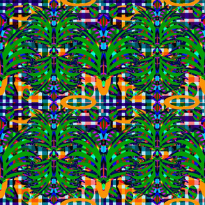 Classidel Abstract Palms
