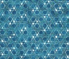 Tie dye dark blue