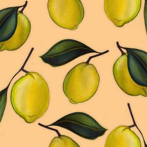 Lemonpattern Peach Large