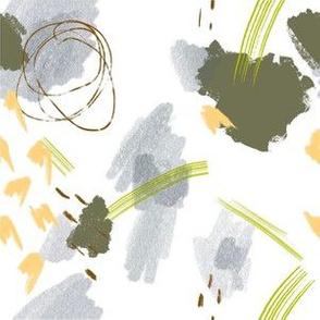 Mini Abstract - Green