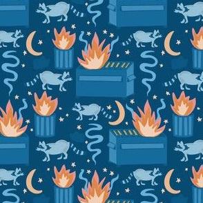 Dumpster Fire, Blue