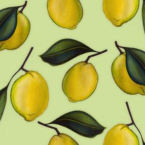 Lemonpattern Green Large