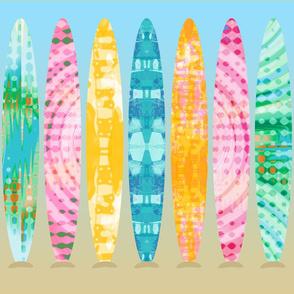Tie Dye Surfboards