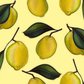 Lemonpattern Yellow Large