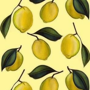Lemonpattern Yellow Small