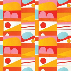 Modern Colorblock - Small Scale