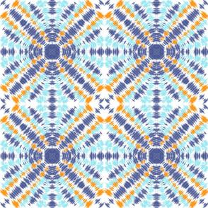Tie dye symmetry
