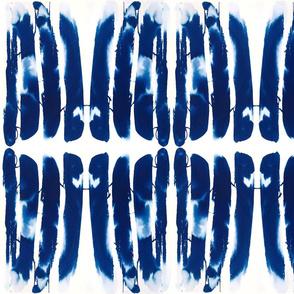 Long tie dye stripes