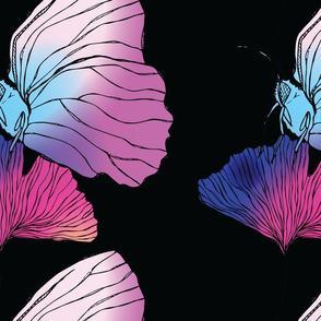 Butterfly Ginkgo Gradient Large