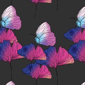 Butterfly Ginkgo Slate
