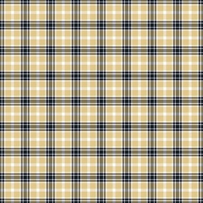 White Gray Brown Plaid Small Scale
