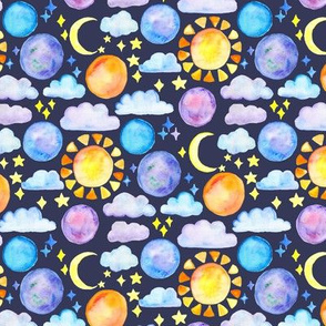 Night Sky - Small Scale