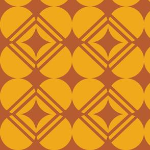 four-leaf clover golden