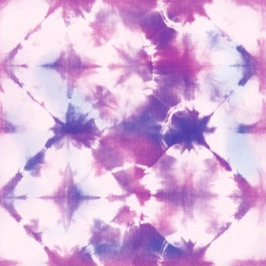 Lilac and pink tie-dye