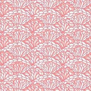 shell crochet - blush