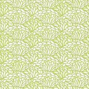 shell crochet - leaf