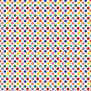 Lotsa Dots Jewel Tones - Small