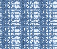 Faded Blue Tie Dye Shibori