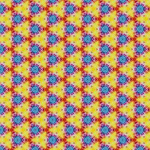Tie Dye Tessellation  CYM