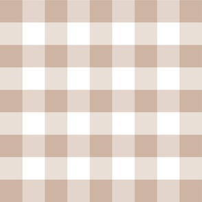 Country beige medium plaid