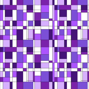 Mondrian purple