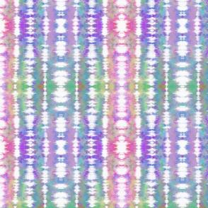 Pastel Rainbow Tie Dye Stripes