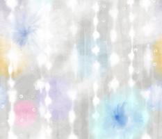 Fluffy Flowers Tie-dye