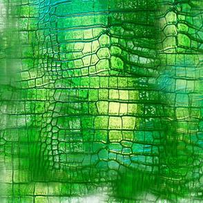crocodile tiedye