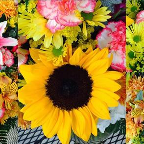 Floral bouquet Photo Collage
