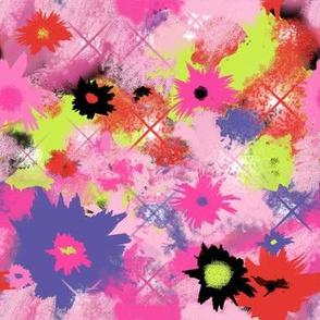 Tie-Dye Flowers