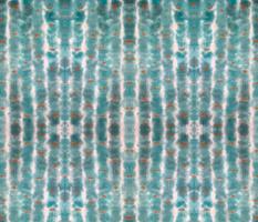 Turquoise Tie Dye