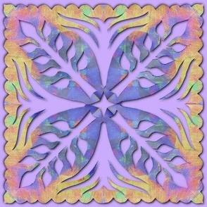 Botanical Papercut Napkin