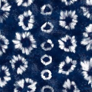 Shibori Indigo Tie Dye by Angel Gerardo