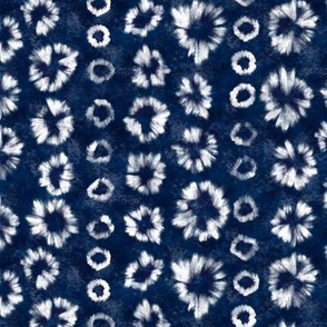 Shibori Indigo Tie Dye by Angel Gerardo - Small Scale