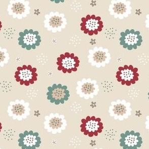 Enchanted Floral-Beige
