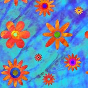 Tie Dye - Flower Power