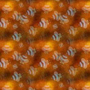 Busy Honey Bees