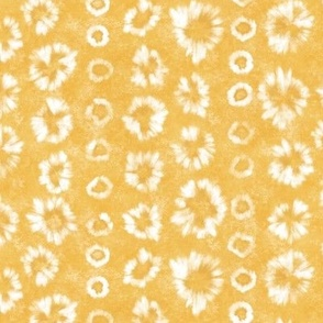 Shibori Saffron Gold Tie Dye by Angel Gerardo - Small Scale