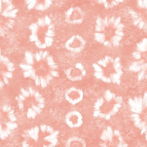 Shibori Blush Pink Tie Dye by Angel Gerardo