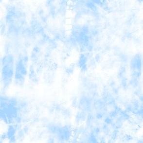 Light Blue Tie Dye