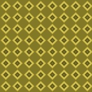 Olive green tie and die blocks