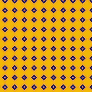 Geometric  afro prints saffron