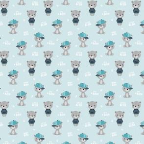 Bear Boy - blue - small
